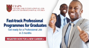 Postgraduate Professional Programmes for Graduates Get ready for a Professional Job in 3 months