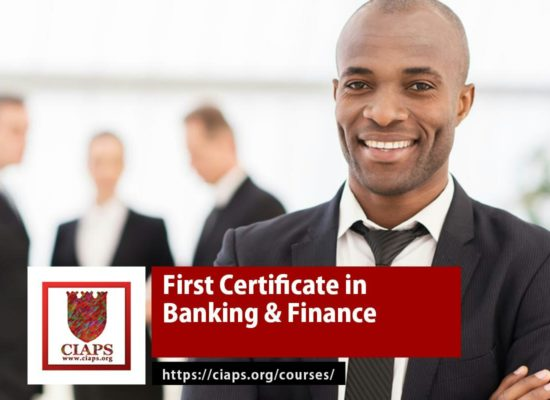 Certificate in Banking and Finance