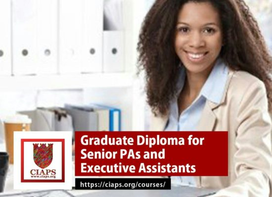Graduate Diploma for Senior PAs and Executive Assistants
