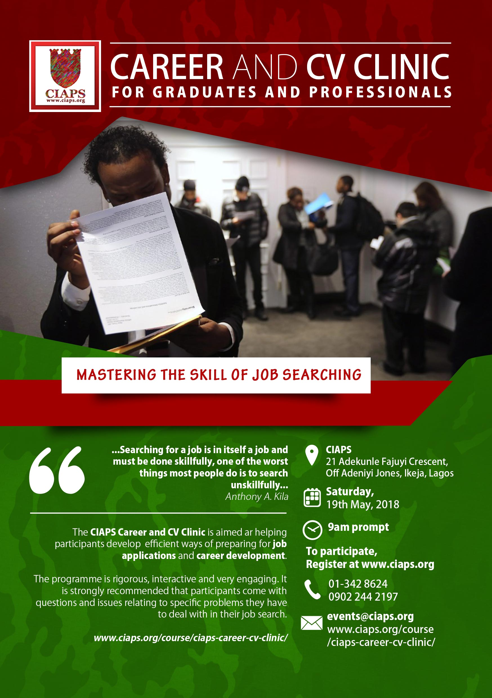 CV clinic flyer
