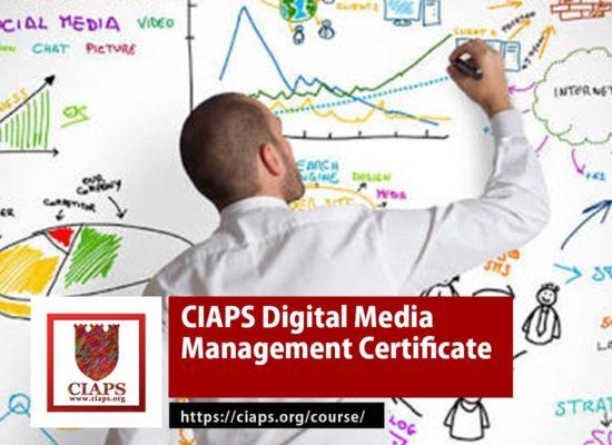 CIAPS Digital Media Management Certificate