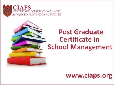 Graduate Diploma for Senior PAs