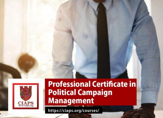 Professional Certificate in Political Campaign Management