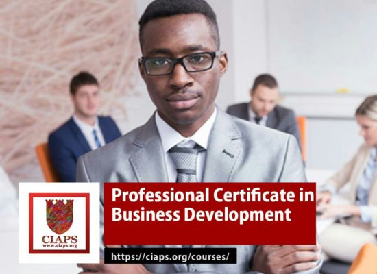 Professional Certificate in Business Development