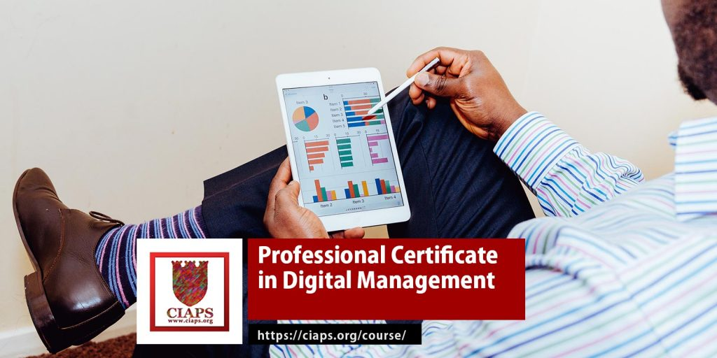 Professional Certificate in Digital Management