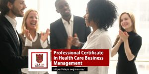 Professional Certificate in Health Care Business Management