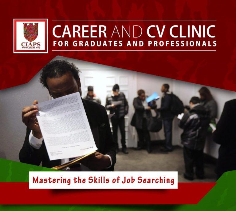 CIAPS Career and CV Clinic for Graduates & Professionals